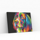 Best Pause Dog Multi Color, Paint by Numbers,