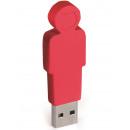 4GB USB Stick Father (Red)
