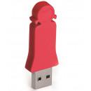 mayorista Informatica y Telecomunicaciones: Hija de 4 GB de memoria USB (rojo)