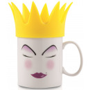 Mug with Silicone Vicky Kelly (Yellow)