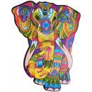 wholesale Toys: Wood Trick Great Elephant, Wooden Shape Puzzle