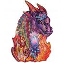 wholesale Toys: Wood Trick Wizard Dragon, Wooden Shape Puzzle
