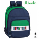 groothandel Rugzakken: Benetton Double Adapt Rugzak 32x42x16