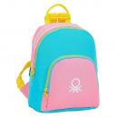 groothandel Rugzakken: Benetton Pastel Bag Rugzak 30x25x13