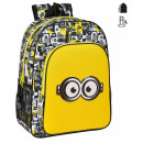 Minions Backpack Adaptable to trolley 42x33
