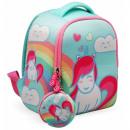 Neoprene Unicorn Backpack 25 cm.