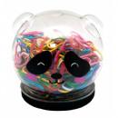 grossiste Accessoires & Pièce détachée: Pot 150 Clips Couleurs Panda
