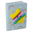 Cuaderno notas con estrella squisy 17x12