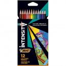 Estuche 12 lápices colores BIC Intensity