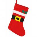 Czerwone botki świąteczne Noel 42x26