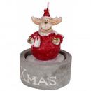 Figurka świecy Boże Narodzenie 7x5 - 3 modele