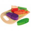 Food set + wooden board - 2mod