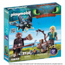 Playmobil Dragons Set Jgo. Hiccup and Astrid