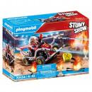Playmobil Firefighters Stuntshow Kart