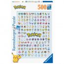 Pokémon Puzzle 500 pzas