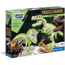 Bowplaying Scientist T-Rex + Tricerat