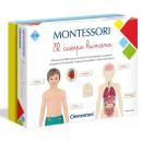 Montesori Le corps humain 3-6 ans