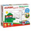 Alpino kreatív készlet festék számokkal
