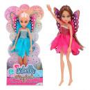groothandel Poppen & Pluche: Magische Feeënpop 24cm-3mod
