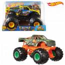 Hot Wheels Monstertruck voertuig 19 cm