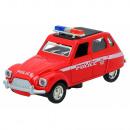 Metalen klassieke politiewagen 11cm - 4 mod