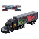 Metalen vrachtwagenaanhanger 24 cm- 8mod