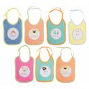 groothandel Kinder- & babyinrichting: Set 7 slabbetjes dagen week 28x19cm