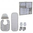 Neugeborenes 5-teiliges Set Baumwolle