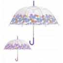 hurtownia Torby & artykuly podrozne: Przezroczyste kwiaty parasolowe 90 cm autom