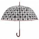 hurtownia Torby & artykuly podrozne: Przezroczysty kwadratowy parasol 90cm Autom
