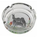 groothandel Asbakken: Tropische glazen asbak 11x3 - 3 mod