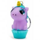 Unicorn Lip Balm Cupcake6cm 4col