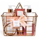 Spa Cosmetic Basket Set 6 Pcs