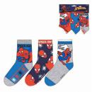 mayorista Calcetines y Medias: Spiderman Pack 3Calcetines 3T/23-31 2mod