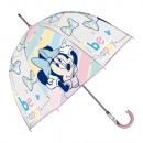 grossiste Articles sous Licence: Minnie Parapluie Campana Transp66cm 2col