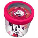 mayorista Material escolar: Minnie Reloj Analógico en Caja Metal 8x7