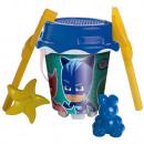 Pjmask Set Cubo+accesorios 36x18
