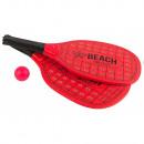 Zestaw łopatek plażowych z drewna neonowego20x40x0