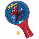 Spiderman Zestaw plastikowych wioseł z piłką