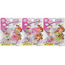 wholesale Beads & Charms: beads set, blister card, 8x10,5cm