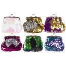 wholesale Bags & Travel accessories:sequin purse pp, 9x8,5cm