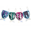 wholesale Bags & Travel accessories: sequin purse with mermaid tail, 13,5x9cm
