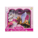 groothandel Poppen & Pluche: paard met vleugels met accessoirebox, 26x23x6cm