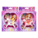 wholesale Dolls &Plush: doll with rocking horse, 16x13x5cm-h 4cm