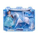 wholesale Dolls &Plush: doll with horse blue box l, 41,5x32x8,5cm