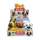 Großhandel Puppen & Plüsch: Hund, Fensterbox, 3 fach sortiert 16 cm hoch