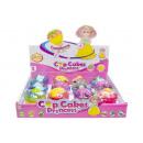 grossiste Poupees et peluches: petite poupée cupcake, 10x5cm