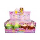 grossiste Poupees et peluches: poupée cupcake l, 12,5x9,5x9cm