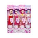 Großhandel Puppen & Plüsch: Charm Girl, 6,5x3,5x28,5cm - Header 3cm