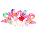 mini doll with wings pp, doll 16cm